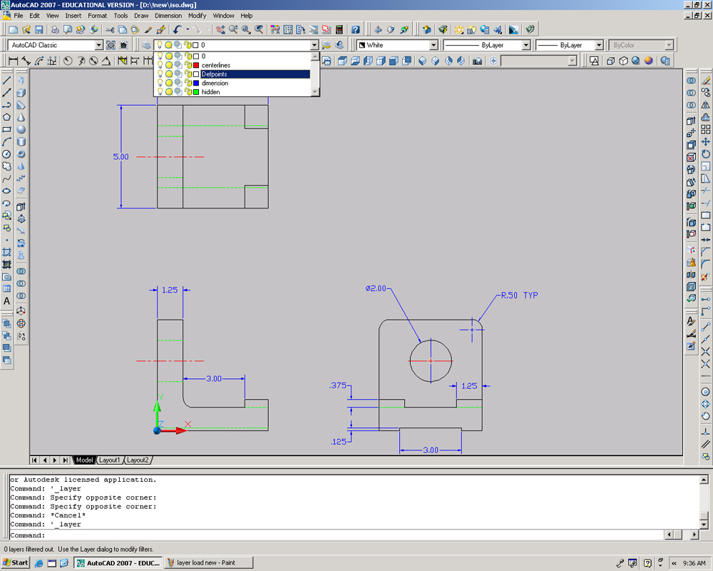 Autocad Notes Drawing Hvac Systems If You Would Like To Read More About The Specific Application Of Different Layers Can Find Information Here Example